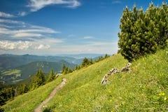 Vista das montanhas de Choc imagem de stock