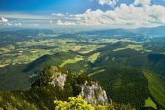 Vista das montanhas de Choc fotos de stock