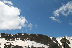 Vista das montanhas de Musala Imagem de Stock Royalty Free
