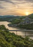 Vista das rochas maravilhosas, Bulgária Imagens de Stock