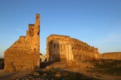 Vista das ruínas do túmulo do Merenides imagem de stock