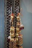 Vista de accesorios nupciales Foto de archivo libre de regalías