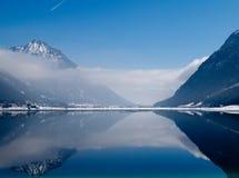 Vista de Achensee Imagenes de archivo