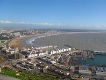 Vista de Agadir, Marruecos Imágenes de archivo libres de regalías