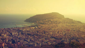 Vista de Alanya Imagen de archivo libre de regalías