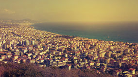 Vista de Alanya Imagenes de archivo