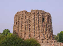 Vista de Alay-Minar de la torre Fotos de archivo
