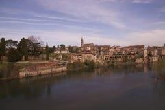 Vista de Alby em França Imagem de Stock Royalty Free