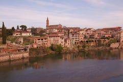 Vista de Alby em França Fotografia de Stock Royalty Free