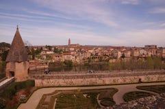 Vista de Alby em França fotografia de stock
