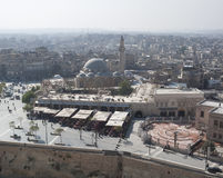 Vista de Alepo Siria fotografía de archivo libre de regalías