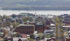 Vista de Alexandría, Virginia los E.E.U.U. Fotografía de archivo