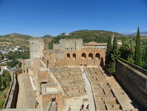 Vista de Alhambra Imagem de Stock