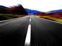 Vista de alta velocidade panorâmico imagem de stock royalty free