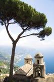 Vista de Amalfi de Ravello Imagenes de archivo