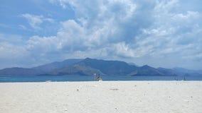 A vista de Anawangin Foto de Stock Royalty Free