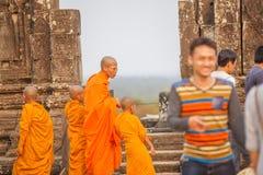 Vista de Angkor, Siem Riep, Camboja Foto de Stock Royalty Free