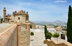 Vista de Antequera Imagen de archivo