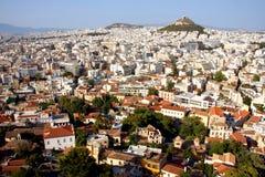 Vista de Atenas Imagens de Stock