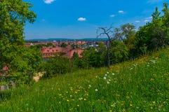 Vista de Bamberg, Alemania Foto de archivo libre de regalías
