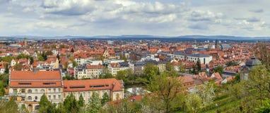 Vista de Bamberg, Alemania Fotos de archivo