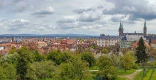 Vista de Bamberg, Alemania Imagen de archivo