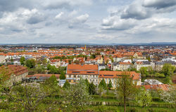 Vista de Bamberg, Alemania Fotografía de archivo
