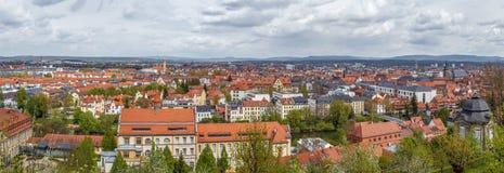 Vista de Bamberg, Alemania Imagenes de archivo