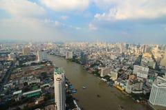 Vista de Bangkok Fotografía de archivo