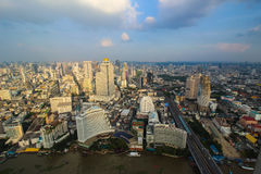 Vista de Bangkok Fotos de archivo libres de regalías