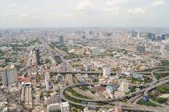 Vista de Bangkok del ochenta-cuarto piso imagen de archivo