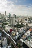 Vista de Bangkok Imágenes de archivo libres de regalías