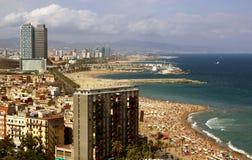 Vista de Barcelona Foto de Stock
