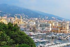 Vista de Bastia Foto de archivo libre de regalías