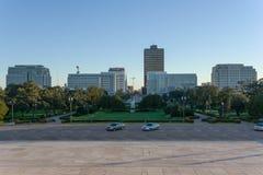 Vista de Baton Rouge, Louisiana Foto de Stock Royalty Free