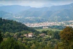 Vista de Bergamo Imagens de Stock Royalty Free