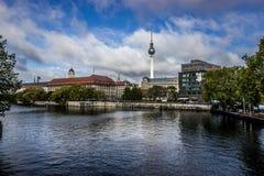 Vista de Berlín fotografía de archivo libre de regalías