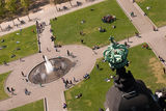 Vista de Berlin Cathedral Foto de Stock