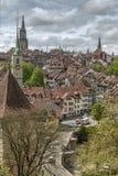 Vista de Berna, Switzerland Imagem de Stock Royalty Free