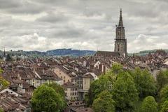 Vista de Berna, Switzerland Fotografia de Stock Royalty Free