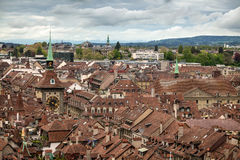 Vista de Berna, Switzerland Imagem de Stock
