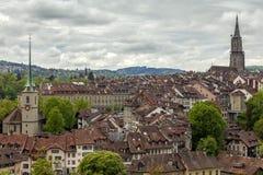 Vista de Berna, Switzerland Fotos de Stock