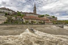 Vista de Berna, Switzerland Imagens de Stock Royalty Free