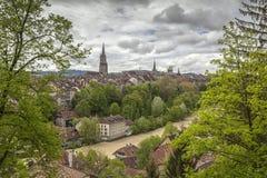 Vista de Berna, Switzerland Foto de Stock