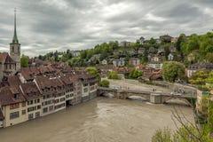 Vista de Berna, Switzerland Fotos de Stock Royalty Free