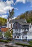 Vista de Blankenheim, Alemanha Imagens de Stock Royalty Free