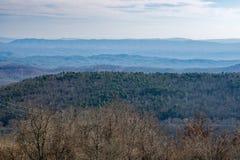 Vista de Blue Ridge Mountains Fotografía de archivo libre de regalías