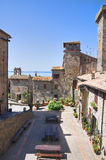 Vista de Bolsena. Lazio. Italia. Fotos de archivo libres de regalías