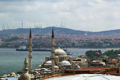 Vista de Bosforus, Estambul fotografía de archivo libre de regalías
