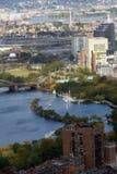 Vista de Boston Fotografia de Stock